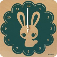 Swoop: LulaBunny Clock on sale