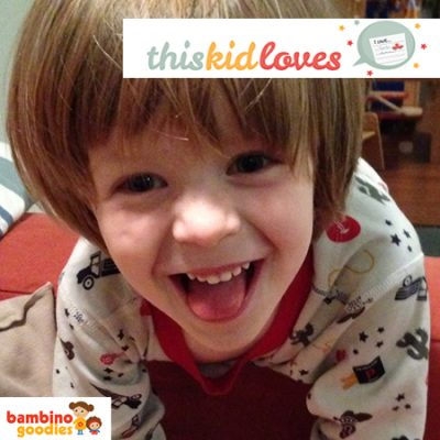 This Kid Loves… Alfie, 4 and three quarters
