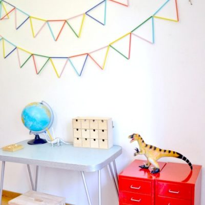 Make your own: Straw bunting