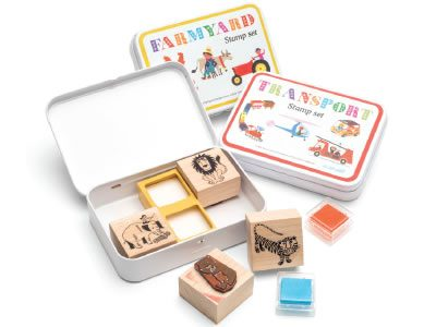 Alain Grée stationery and stamp sets