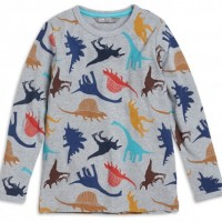 Hot on the high street: Lindex dinosaur top