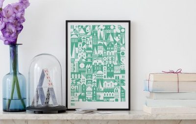 Bold & Noble Coming Home print