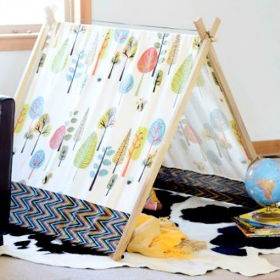Make Your Own: Super-easy play tent