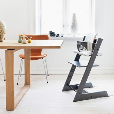 Stokke Tripp Trapp now available in storm grey