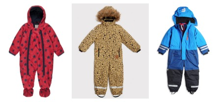 Cool snowsuits for kids