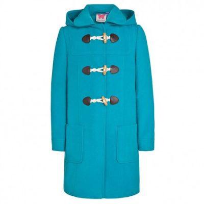 Hot on the high street: John Lewis bright duffle coats