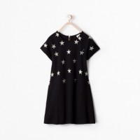 Hot on the high street: Zara star dress