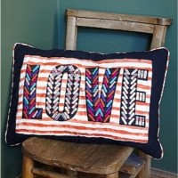 LOVE cushion at Plumo