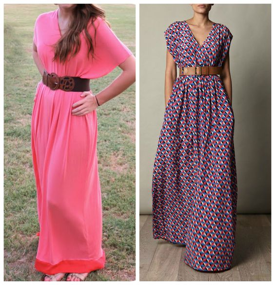Sewing Pattern Maxi Dress