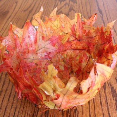 Make Your Own: Leaf Bowl