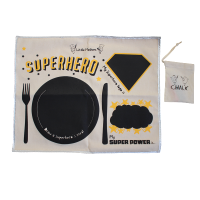 Little Mashers Chalk and Talk placemat