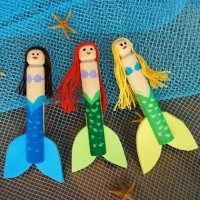 Five Fab….Mermaid Crafts