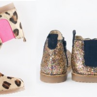Swoop! Boden's Glitter & Leopard Print Chelsea Boots now 70% off