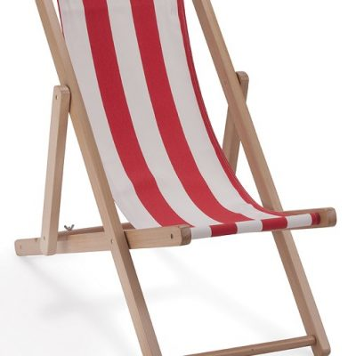 The Tipi deck chairs