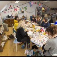 Date for the Diary: Jennie Maizels Sketchbook Club Christmas Card Workshop