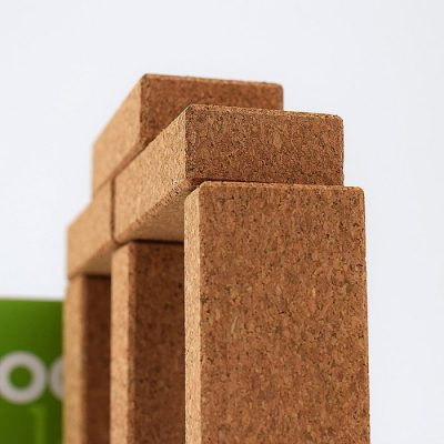 Hory cork building blocks
