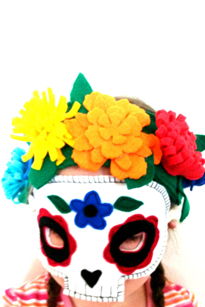 Day of the Dead Mask, £12.99, A is for Alice