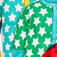 Hot on the high street: Next star sleepsuits