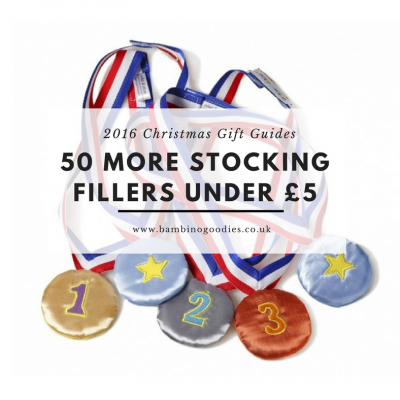 Christmas Gift Guide 2016: 50 More Stocking Fillers Under £5
