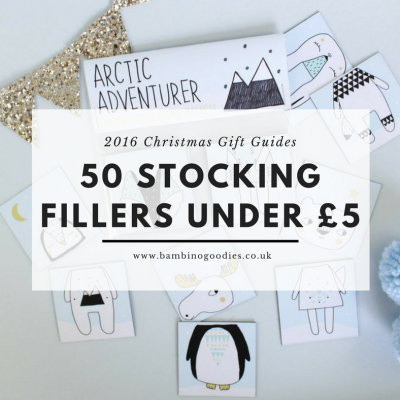 Christmas Gift Guide 2016: 50 Stocking Fillers Under £5