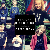 Hot Buy of the Day: Disko Kids Tees (and a discount code, too!)