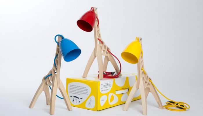 Covetable: Handmade Giraffe Giffy Lamps (and a quick update as to why we have been so quiet!)
