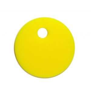 Circle yellow teether