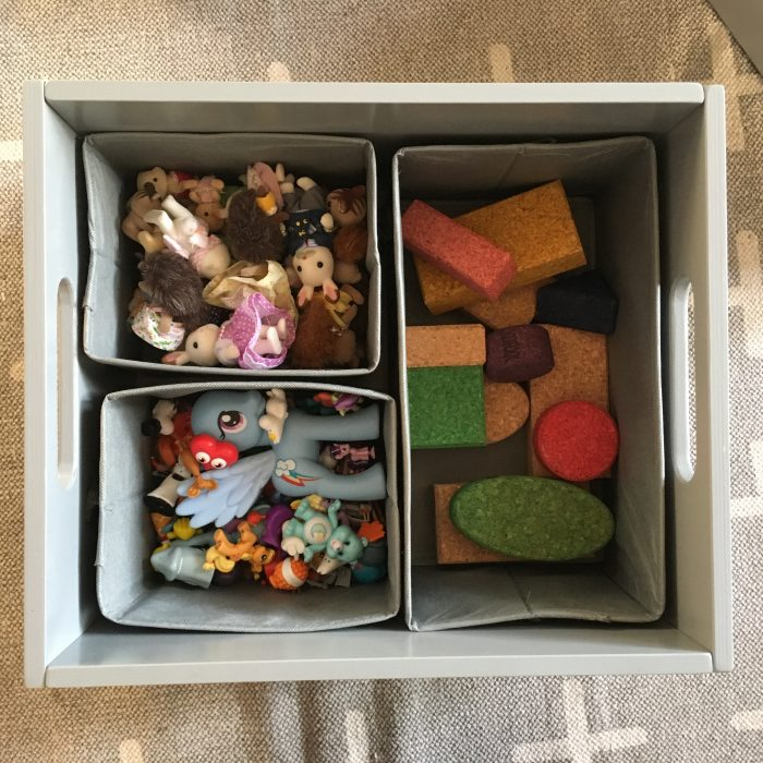 Tidy Books storage box