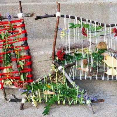 Weekend make: Nature weaving