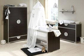 Chamonix contemporary nursery suite