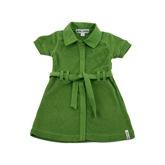 Kik Kid Terry Cotton Summer Dress in Green