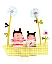 Claire Came picnic print