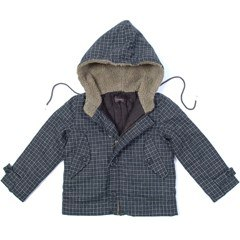 Simple Kids:<br /> Brown quilted jacket