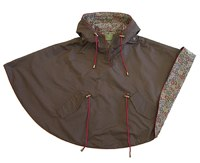 Troizenfants Brown Girls Raincoat