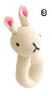 anne claire petit bunny ring with bell