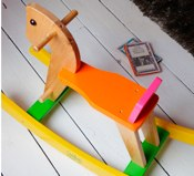Vilac Musical Rodeo rocking horse