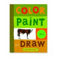 colour, paint draw by crocodile creek