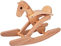 tori horse by plan toys rocking horse