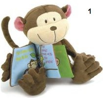 Tummy Tales Monkey by JellyCat