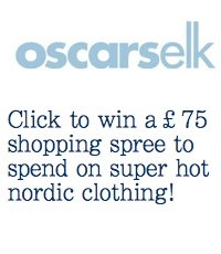 click to win a £75 shopping spree to spend on Nordic Clothing at Oscars Elk