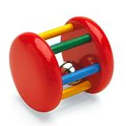 Multicoloured Bell Rattle by Brio