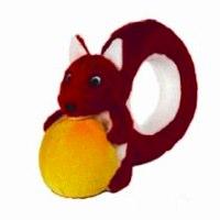 BRIO My Very First Rattle Squirrel