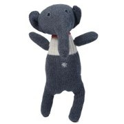Grey Knitted Elephant by Anne-Claire Petit