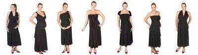 6 Way Maternity Dress Black