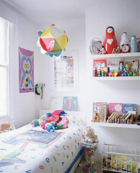White Children's Bedroom