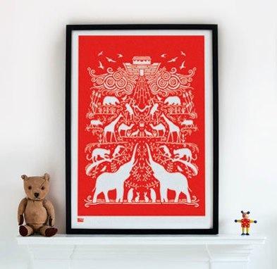 ark in poppy red