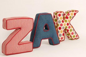 Letter Cushions