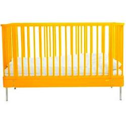 brio sleep cot in yellow