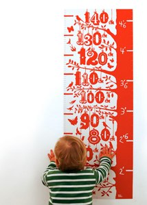 bold and noble grow chart in poppy red