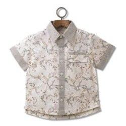 Molly 'n' Jack Boy's All Over Print Summer Shirt